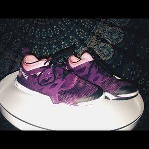 Purple/Pink Crossfit Z Rated Reebok Sneakers
